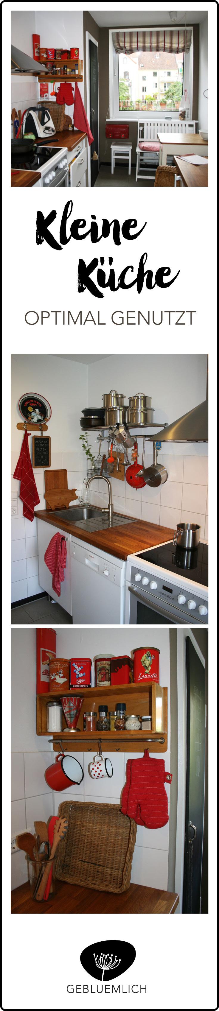 Kleine Küche optimal genutzt