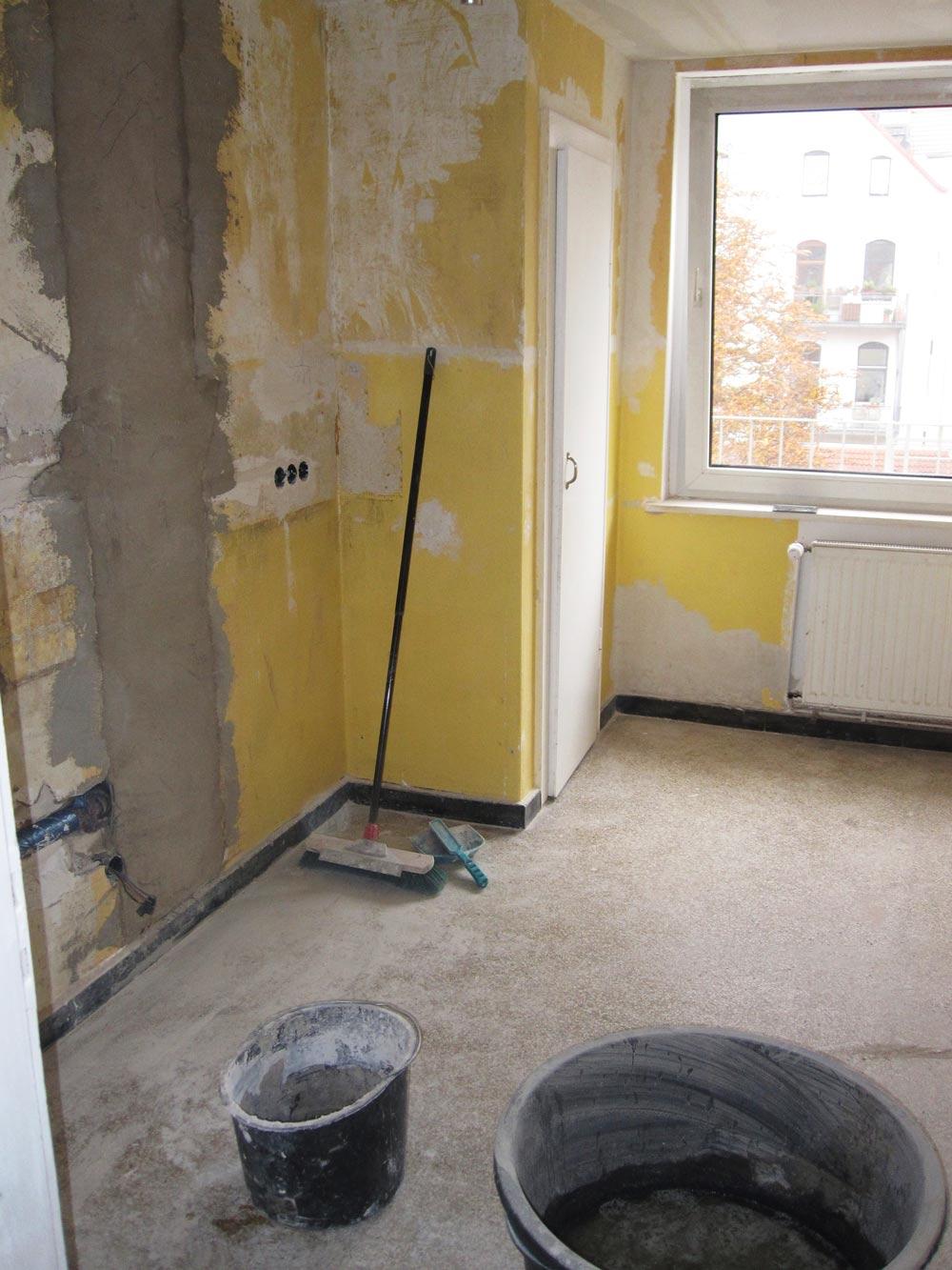 Küche vor der Renovierung