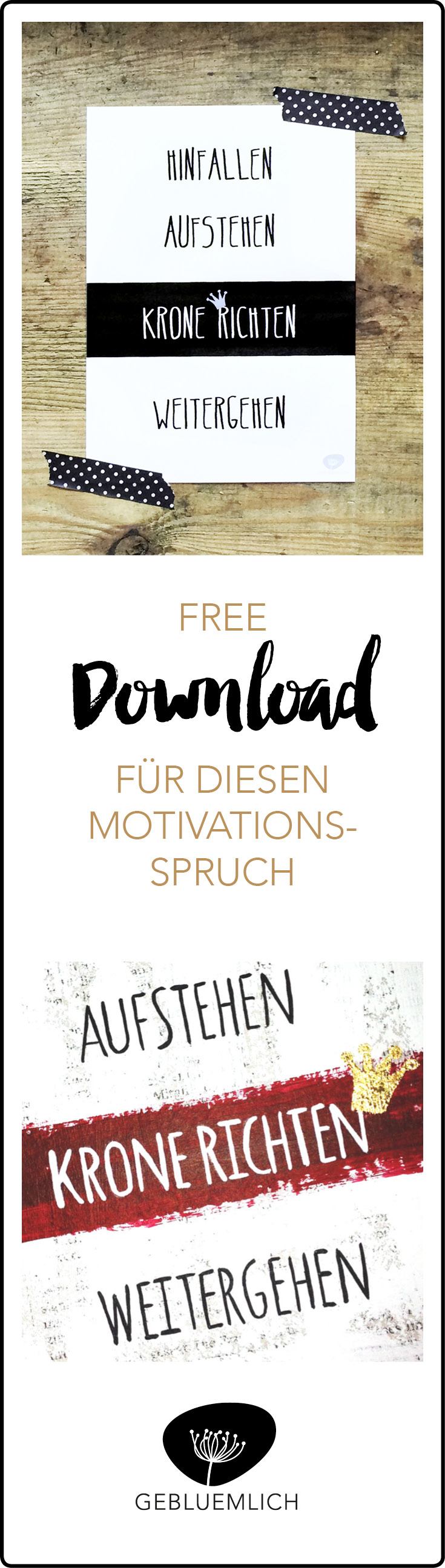 Free Download Motivationsspruch