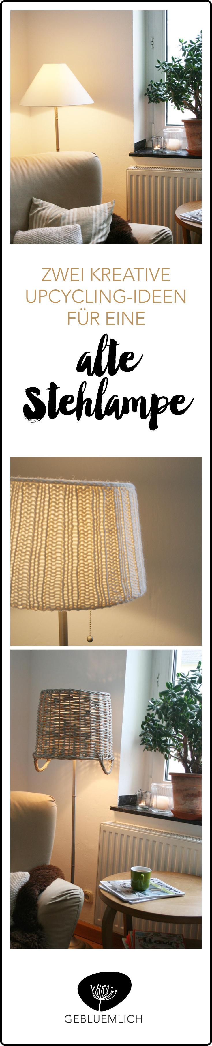 Upcycling-Ideen für alte Lampenschirme