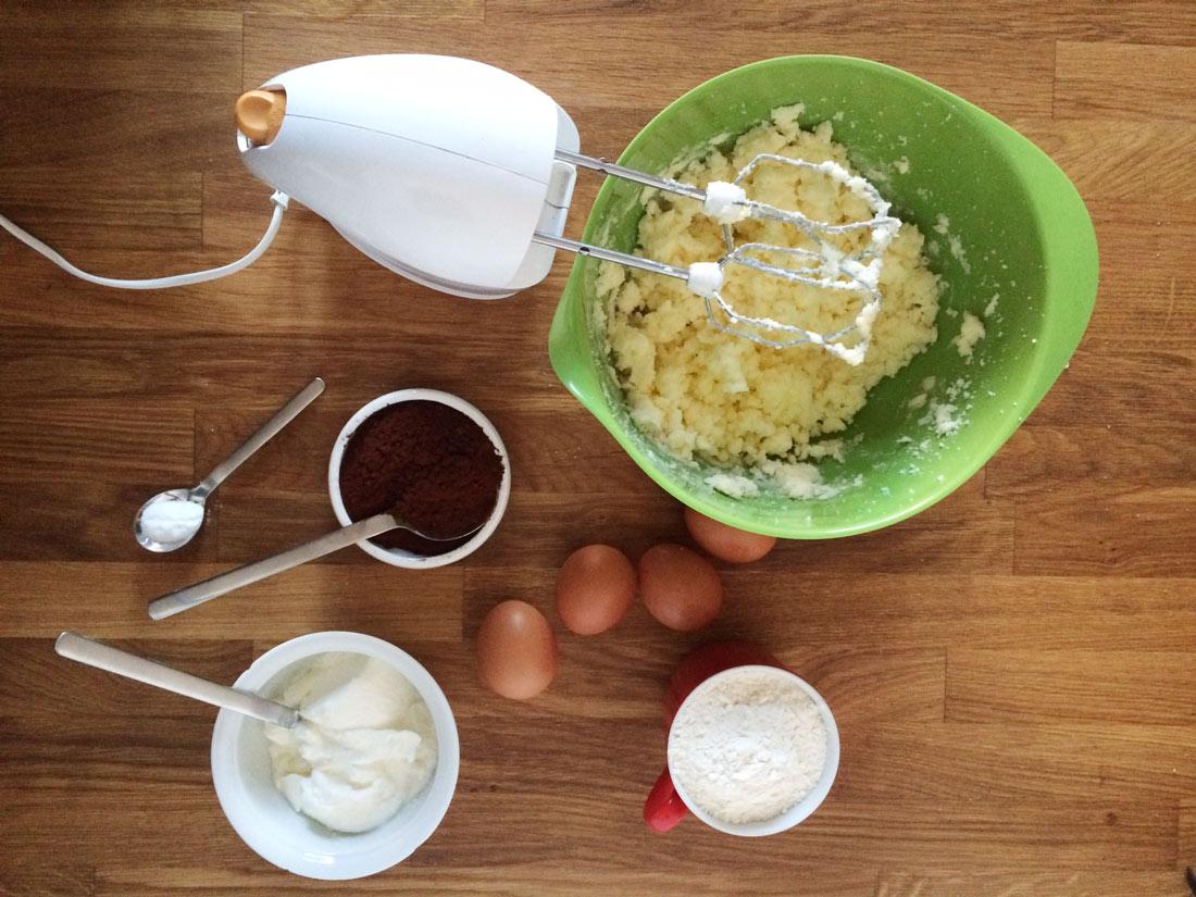 Geburtstagskuchen Zubereitung 1