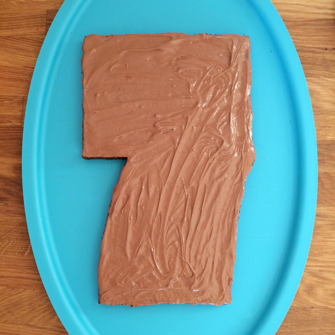 Geburtstagskuchen Zubereitung Schritt 15