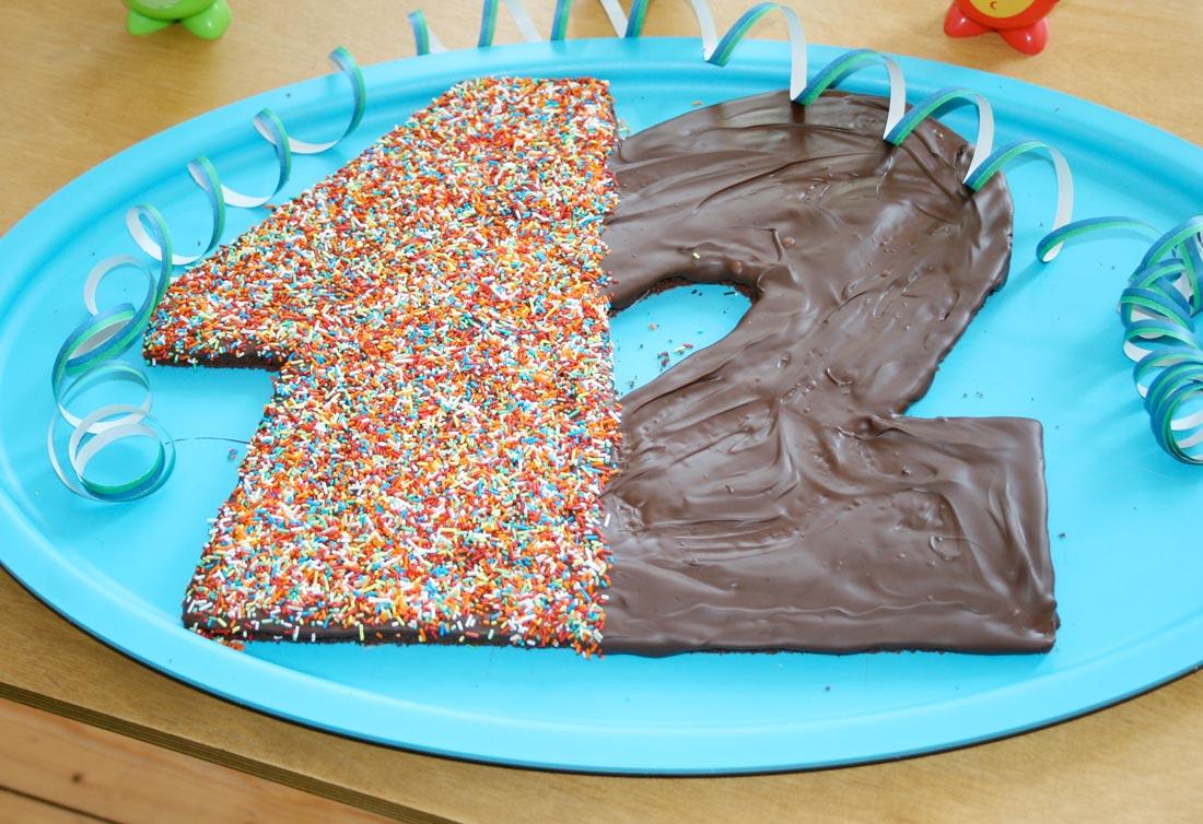 Geburtstagskuchen zum 12.Geburtstag
