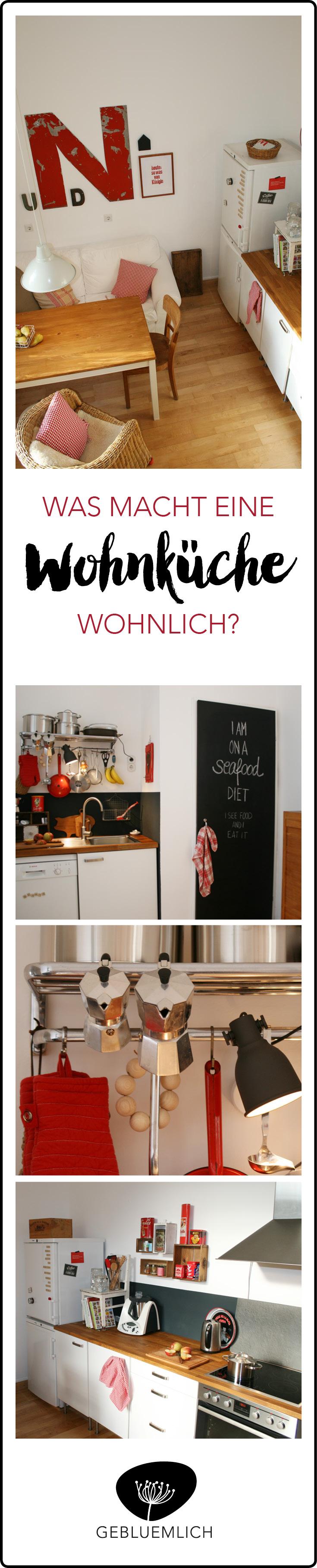 Was macht eine Wohnküche wohnlich