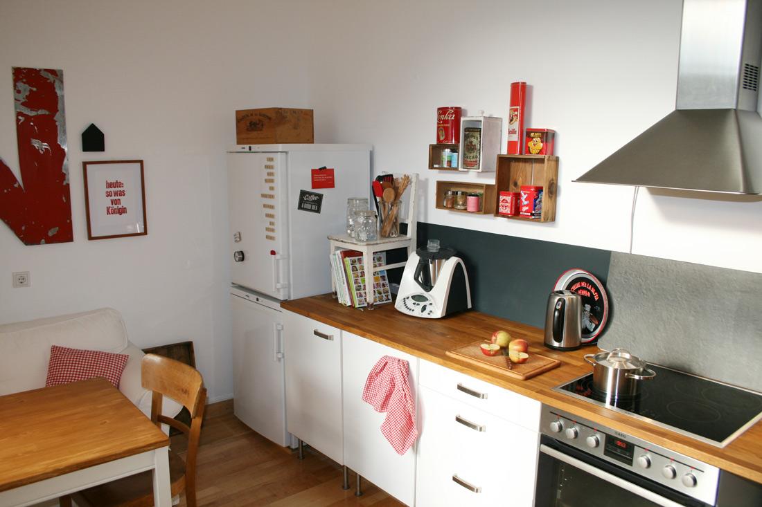 Wohnküche Arbeitsfläche