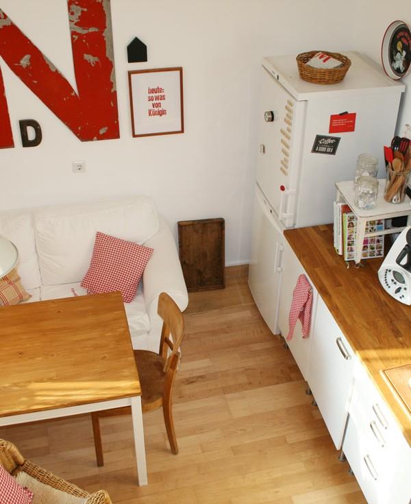 Was macht eine Wohnküche wohnlich?