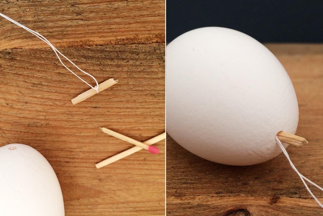 So hängt Ihr ein Ei auf