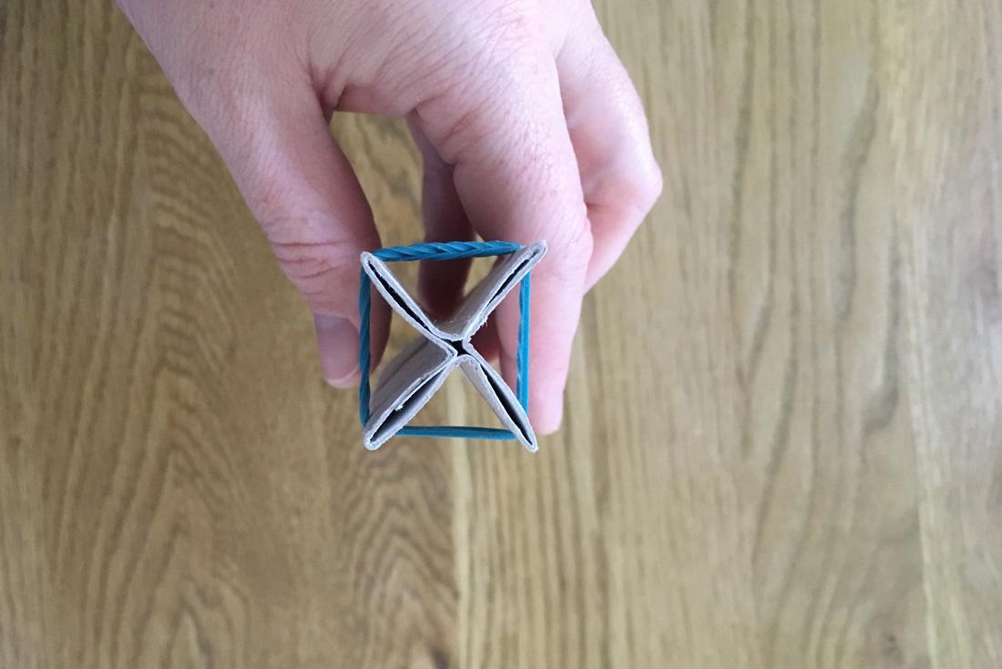 Stempel Kreuz Schritt 6
