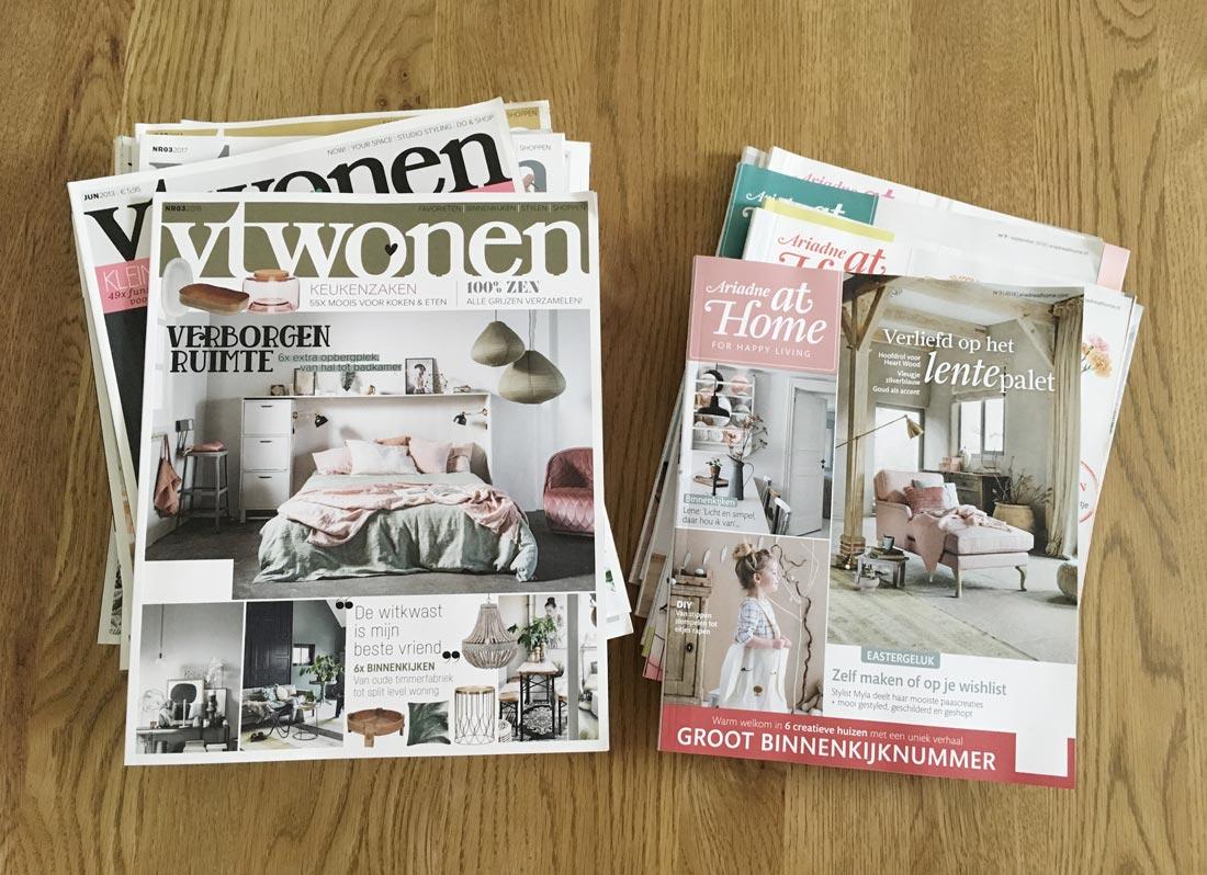 Holländische Wohnzeitschriften