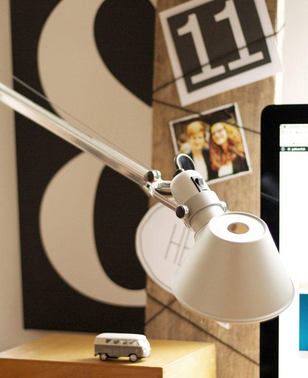 Mut-Board mit Lampe